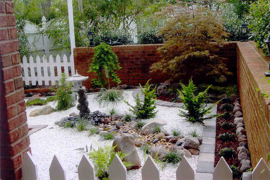 Japanese garden design - Decoration petit jardin ...